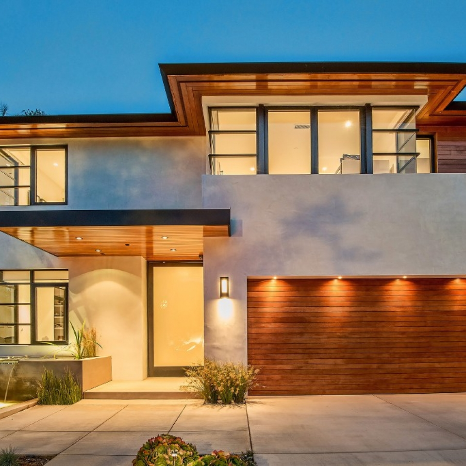 Contemporary Modern Transitional - Structure Home - Los Angeles Home Builder