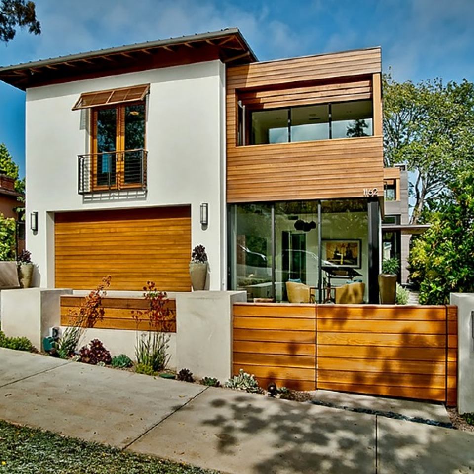 Contemporary Mission Transitional - Structure Home - Los Angeles Home Builder