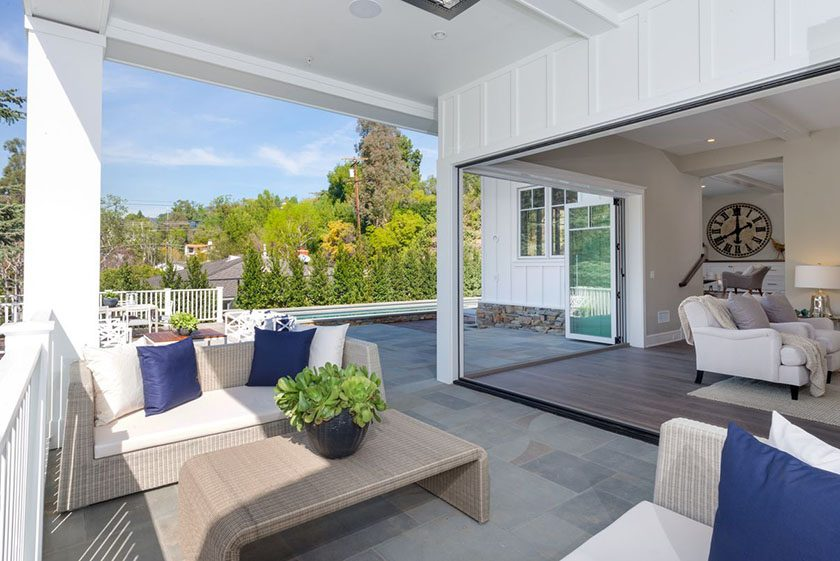 Contemporary Farmhouse with Views in Brentwood For Sale