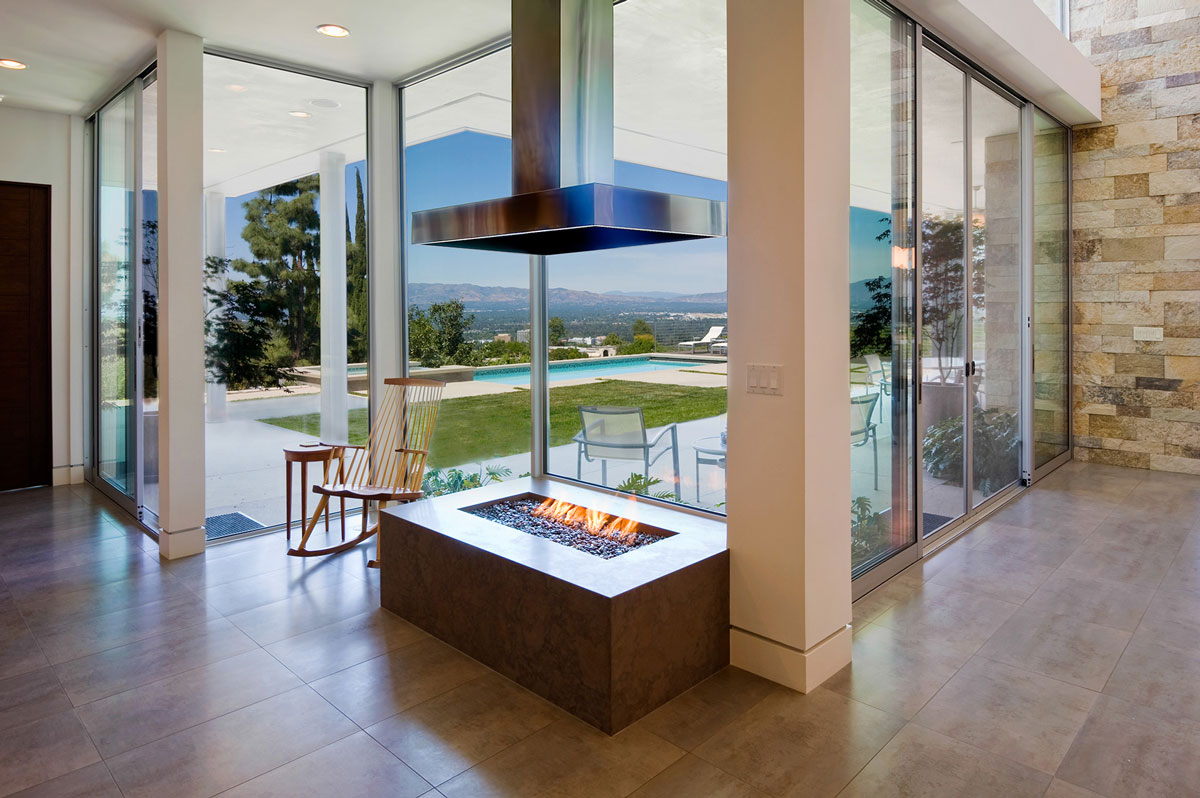 Modern Homes Los Angeles - Warm Contemporary Home Design - Structure Home Los Angeles