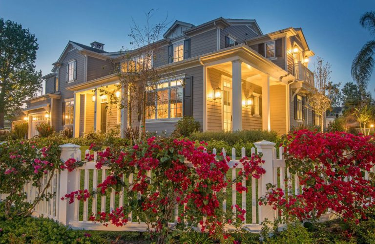 Cape Cod Traditional Home Design - Structure Home Los Angeles