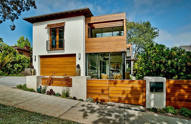 Contemporary Mission Transitional Home Design - Structure Home Los Angeles