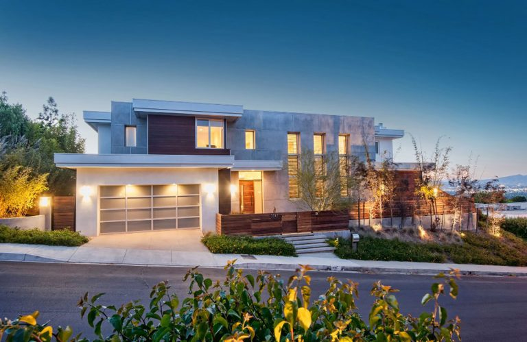 Warm Contemporary Home Design - Structure Home Los Angeles
