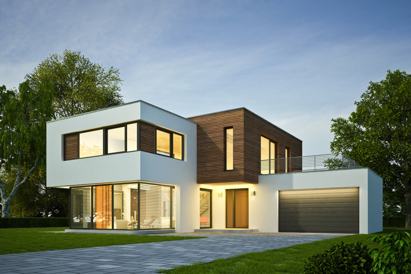 modern homes vs contemporary homes the difference
